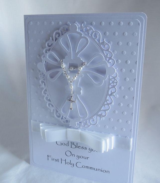 First Holy Communion Handmade card £3.99