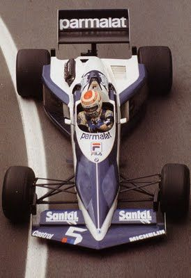 1983 Nelson Piquet, Brabham BT52 BMW, loved this Gordon Murray Designed Car....