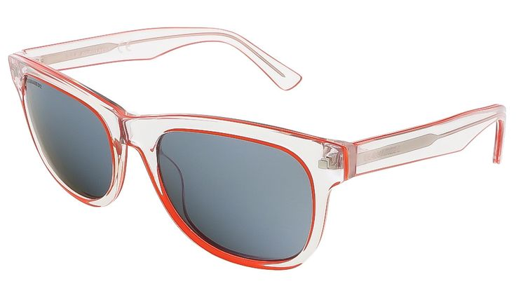 Dsquared DQ0174/S 26C Crystal/Orange Square sunglasses