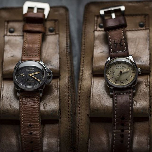 PAM Heritage Collection ... Exotica Vintage Officine Panerai Marina Militare