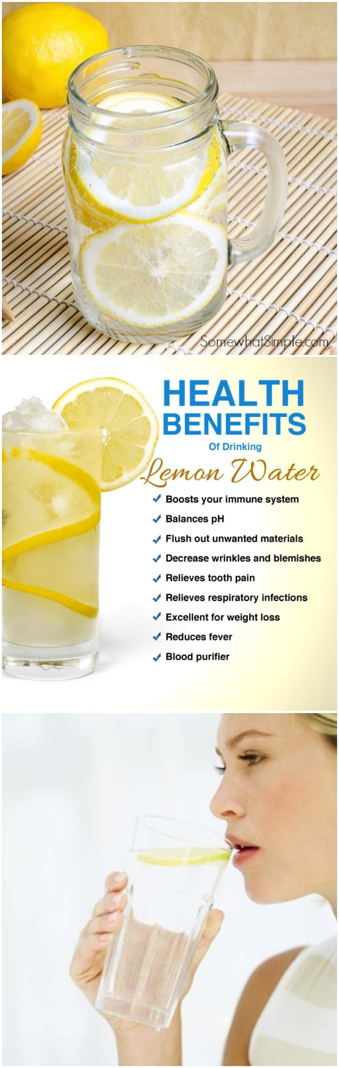 9 Great Reasons You Should Drink Warm Lemon Water Every Morning!!
