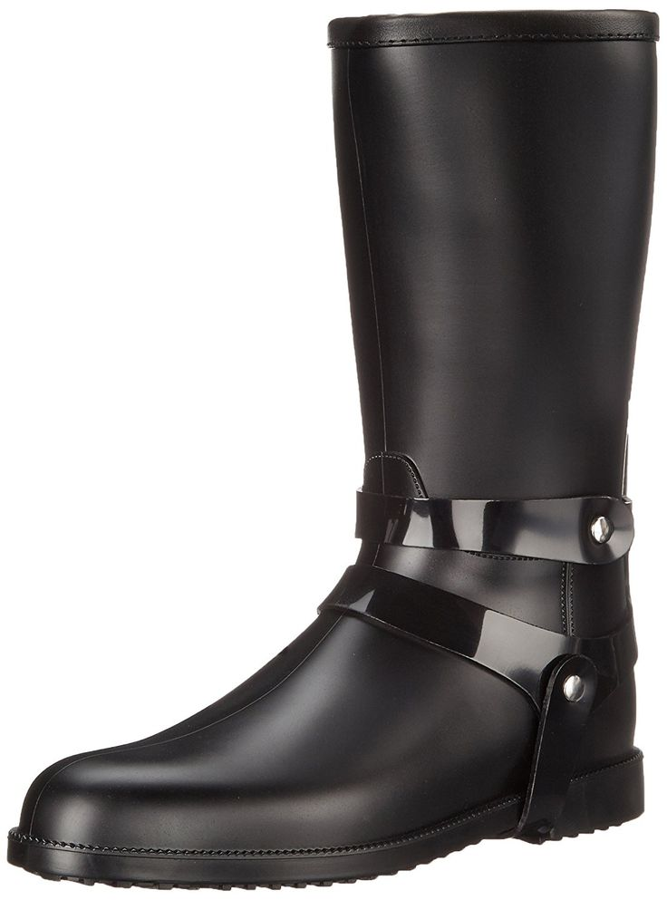 SLOOSH Italy Women's Mid-Height Matte Rain Boot -- You can get more details by clicking on the image.