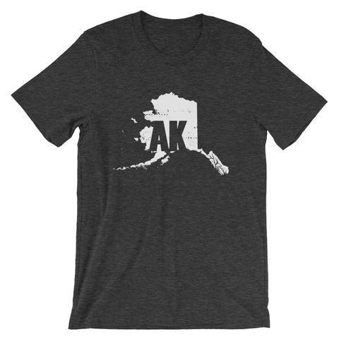 Alaska Postal Code Tee Alaska Shirt State Pride Shirt Tshirt
