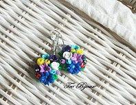 Cercei multicolori