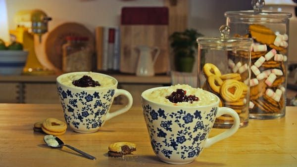 The uniquely Scandinavian lingonberry is the centerpiece of this delicious and creamy festive pudding.