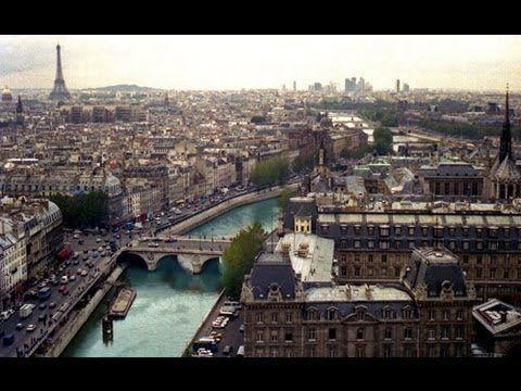PARIS , FRANCE -  A WALKING TRAVEL TOUR - HD 1080P