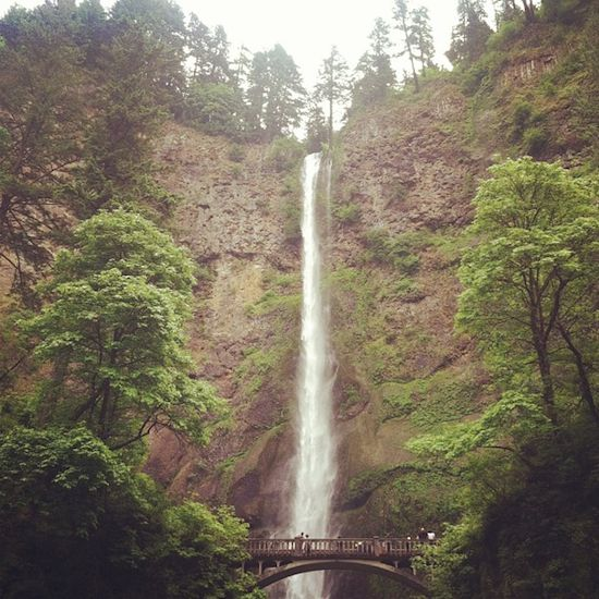 Multnomah Falls, Oregon #KEENrecess #chasingwaterfalls
