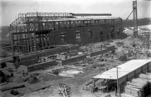 The first power station under construction in 1923 attribution to www.virtualyallourn.com