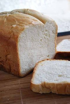 Pan de leche. Receta para panificadora
