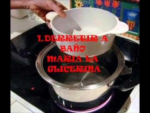 como hacer jabon de canela - YouTube