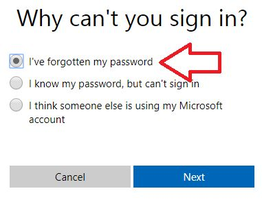 why cant u sign in? Hotmail login. Forgot password.