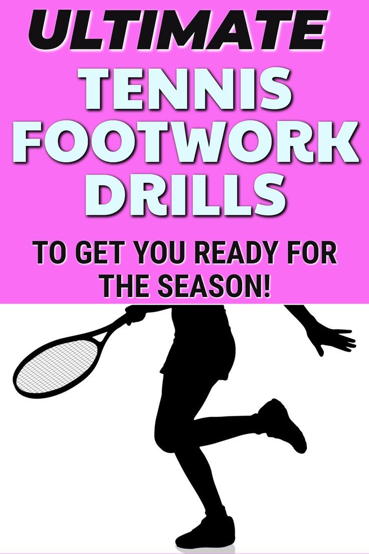Tennis Footwork Drills In 2020 Tennis Drills Tennis Tennis Workout