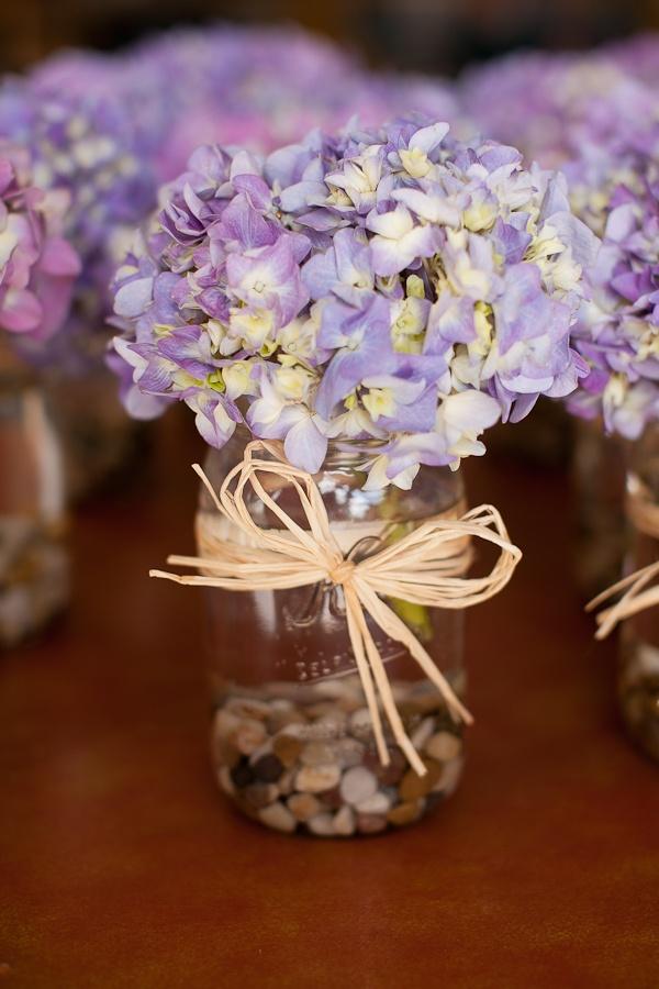 The best purple hydrangea centerpieces ideas on