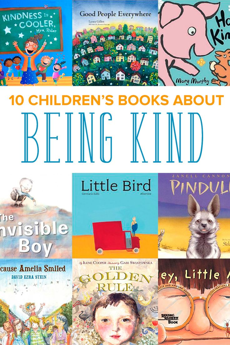 Every parent wants to raise kind children. Start the discussion of what it means to treat others with with these 10 children's books about being kind.