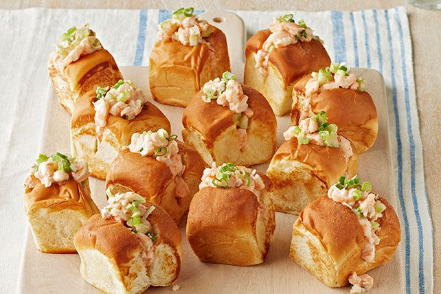 Dive into these Mini Shrimp Rolls tonight! Cook these shrimp rolls up ...