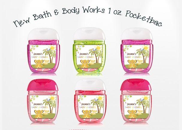 Simba Bath Body Works New Pocketbac Hand Sanitizer Label Bath