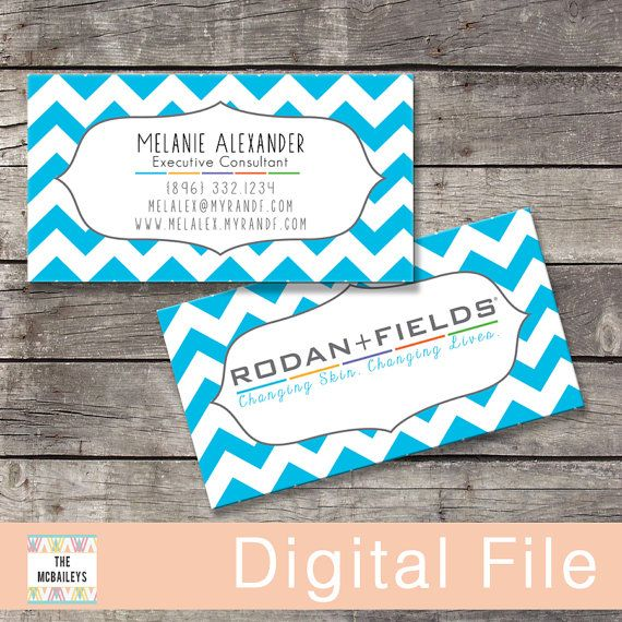 14 best Rodan & Fields Business Cards images on Pinterest