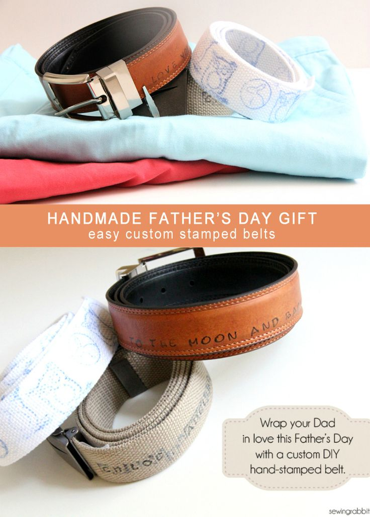 With minimal mess, this craft is easy for kids to make for Father's Day. Make Father's Day memorable and wearable with this DIY tutorial by Jess Abbott.