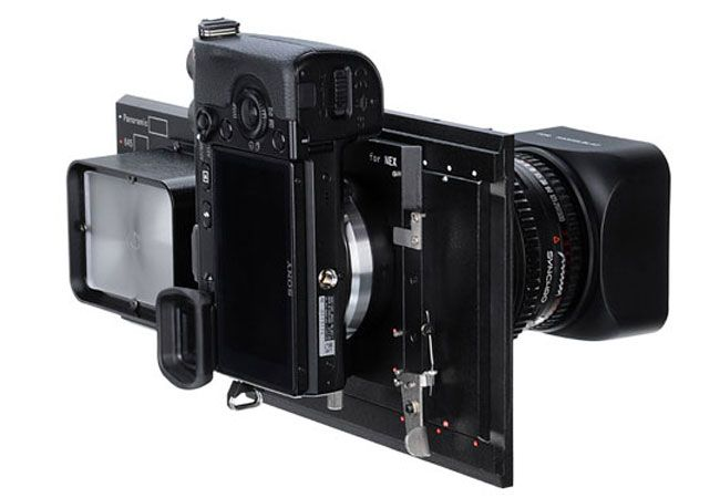 Fotodiox has unveiled a new addition to their Vizelex line, in the form of the RhinoCam adapter, which has been created to enable NEX camera owners to mount Pentax 645, Mamiya 645, or Hasselblad V lenses.