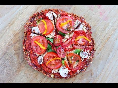 56 best raw vegan recipes images on pinterest vegan meals vegan how to make raw vegan pizza forumfinder Choice Image