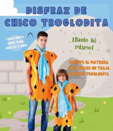 464 best images about disfraces con bolsas de basura de - Disfraz picapiedra casero ...