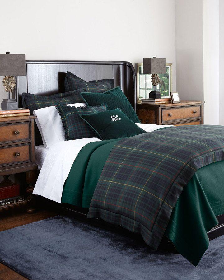 Ralph Lauren Duke Bedding In The Duke Bed Collection
