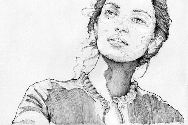 Wunderbare Bleistift-Portraits von Graf n'Arq