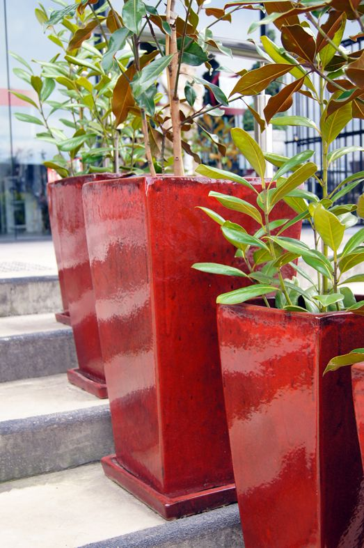 #pots #red #ceramics