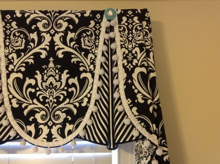 83 Best Curtains And Valence Patterns Images On Pinterest