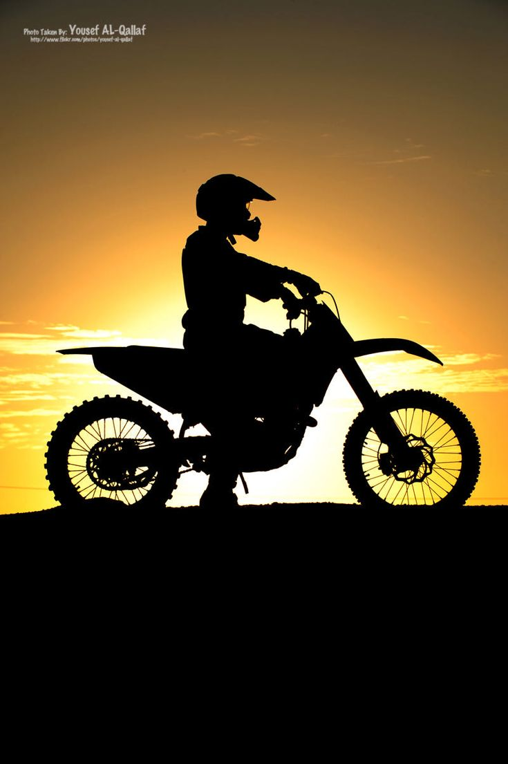 a shot for a motocross rider in Kuwait during Sunset. Riders: Mr. Mohammed Jaffer