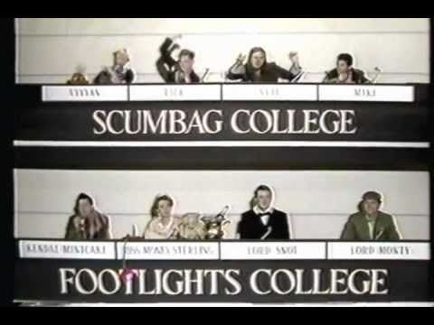Scene from The Young Ones - University Challenge. Hilarious!