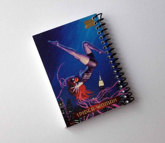 SpiderWoman Comics Pocket Notebook