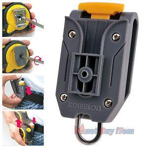 Universal Measuring Tool Tape Measure Holder Carpenter Work Pants Belt Clip 1pcs | eBay