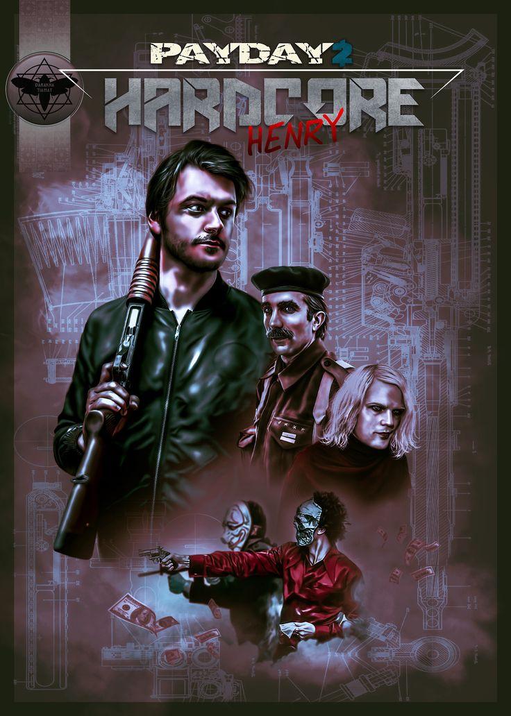 "darakna-tiamat:  "" Ilya Naishuller, Sharlto Copley as Jimmy, Danila Kozlovsky as Akan in ""Hardcore: Henry"" """