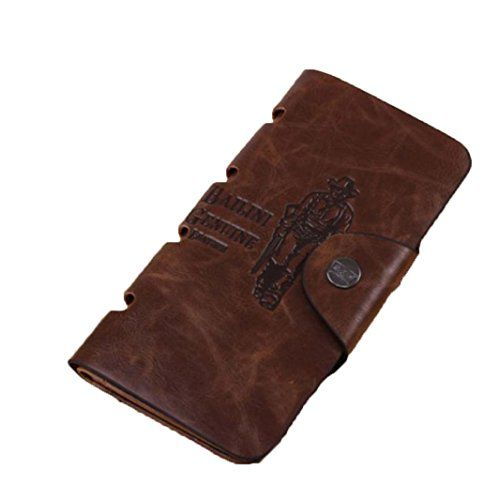 Lacaca Mens Leather Long Wallet Pockets ID Card Clutch Bifold Purse Brown Lacaca http://www.amazon.co.uk/dp/B017GQ9CQI/ref=cm_sw_r_pi_dp_bLXowb0T3WKQA