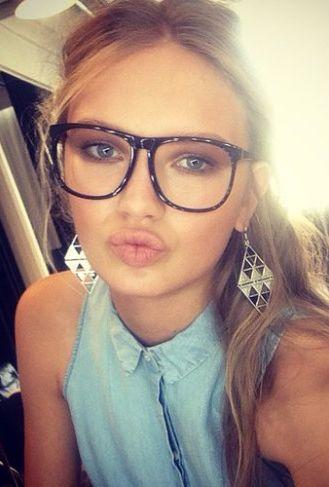 Romee Strijd ♥ Glasses