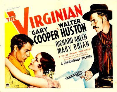 CARTELES DE CINE: EL VIRGINIANO - The Virginian - 1929 - Victor Fleming