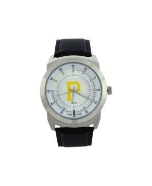 Game Time Pittsburgh Pirates Vintage Watch - Black/Silver