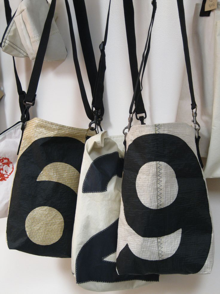 recycled sailcloth Number Totes $68