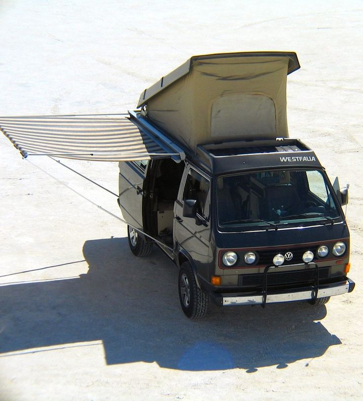 T3 Westfalia Vanagon Camper with a cool side canopy