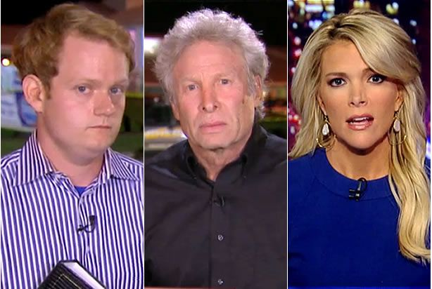"""Andy Parker told Megyn Kelly that """"we've got to do something about crazy people getting guns"""""""