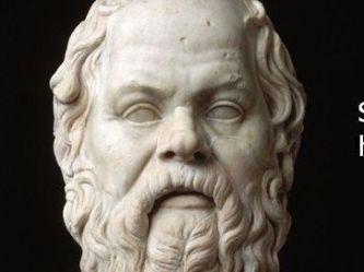 """Frases de Sócrates para la vida, """"solo sé que no sé nada"""""""