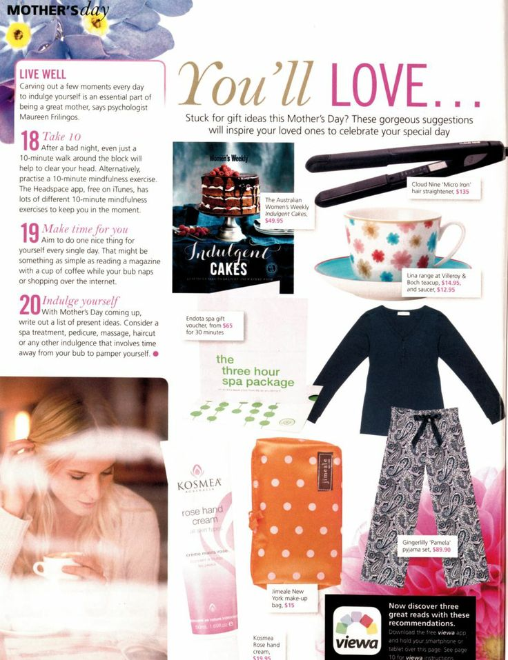 Pamela featured in Mother & Baby Magazine!