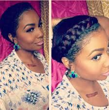 transitioning natural hairstyles for short hair - Google Search