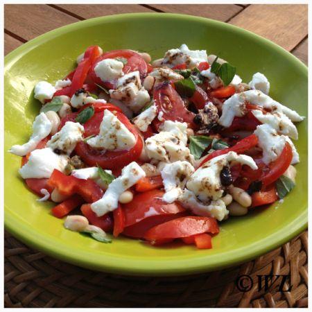 Salade met paprika en tomaat | kookgek wilma