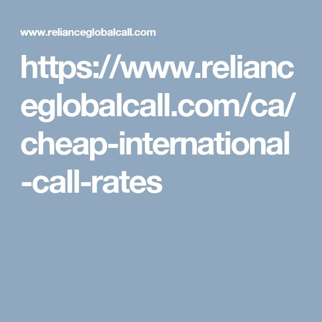 Make cheap international calls from any mobile phone or landline from Canada to India at Reliance Global Call. Download our smart phone apps and Get great low-cost Canada rates. So keep in touch with family, friends, and others with good quality International calling experience.