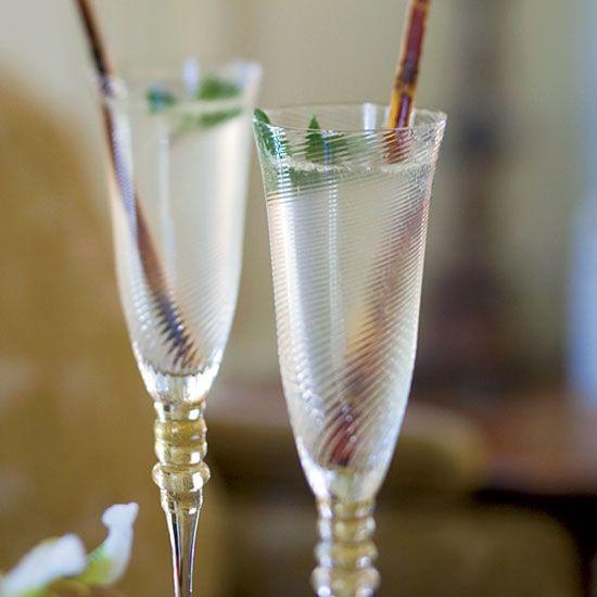 Champagne Mojitos