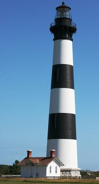 this is some coastal lighthouse! Bodie Island Lighthouse, North Carolina. Been here :)