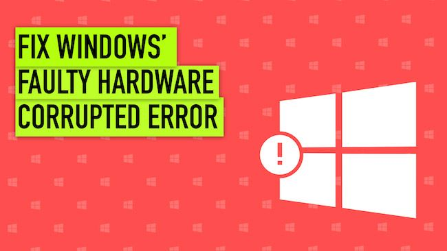 Fix: Faulty Hardware Corrupted Page | twitter | Windows 10