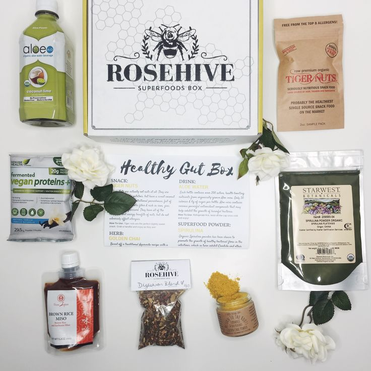 The Healthy Gut Box   Superfoods For A Healthy Gut